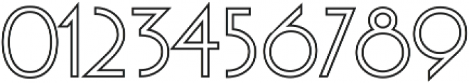 Moonglade Line Light ttf (300) Font OTHER CHARS