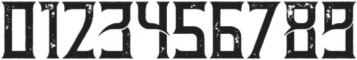 Moonshine Aged otf (400) Font OTHER CHARS