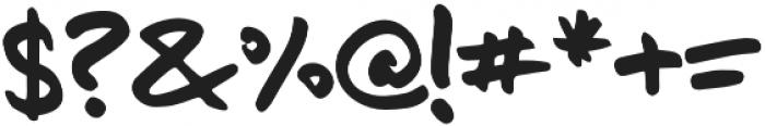 Moonshot-Regular otf (400) Font OTHER CHARS