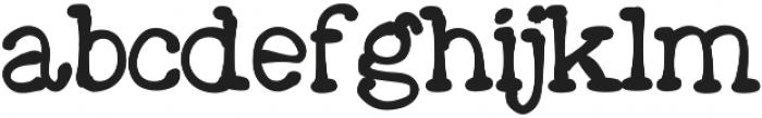Moose ttf (400) Font LOWERCASE