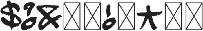 Mopkings Regular otf (400) Font OTHER CHARS
