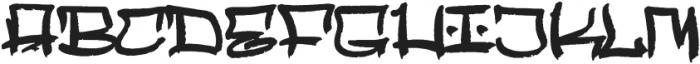 Mopkings Regular otf (400) Font UPPERCASE