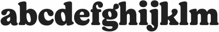 Moranga Black otf (900) Font LOWERCASE