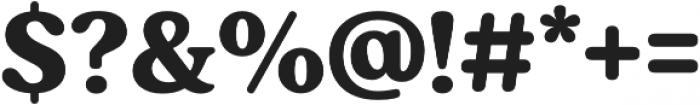 Moranga Bold otf (700) Font OTHER CHARS