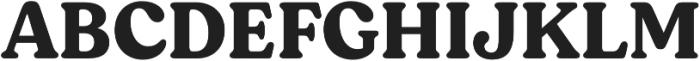 Moranga Bold otf (700) Font UPPERCASE