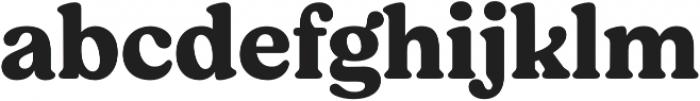 Moranga Bold otf (700) Font LOWERCASE