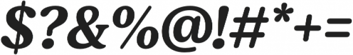 Moranga Medium It otf (500) Font OTHER CHARS