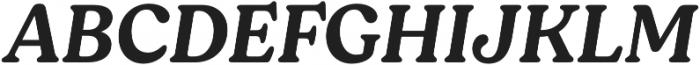 Moranga Medium It otf (500) Font UPPERCASE