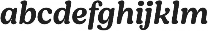 Moranga Medium It otf (500) Font LOWERCASE