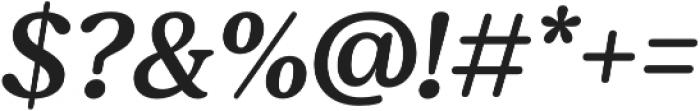 Moranga Regular It otf (400) Font OTHER CHARS