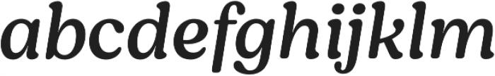 Moranga Regular It otf (400) Font LOWERCASE