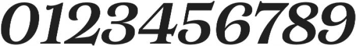 Morison Semibold Italic otf (600) Font OTHER CHARS