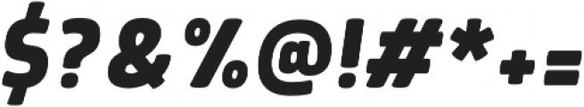 Morl Bold Italic otf (700) Font OTHER CHARS