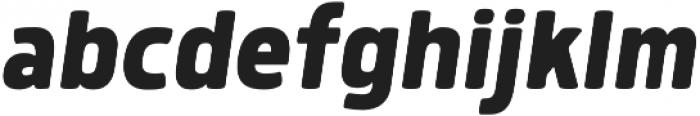 Morl Bold Italic otf (700) Font LOWERCASE