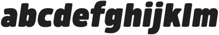 Morl ExtraBlack Italic otf (900) Font LOWERCASE