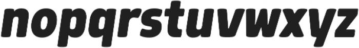 Morl ExtraBold Italic otf (700) Font LOWERCASE