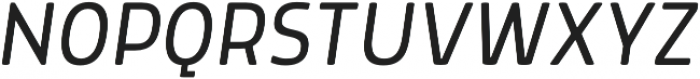 Morl Light Italic otf (300) Font UPPERCASE