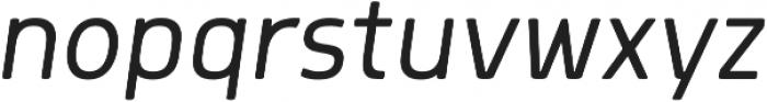 Morl Light Italic otf (300) Font LOWERCASE