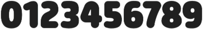 Morl Rounded Black otf (900) Font OTHER CHARS