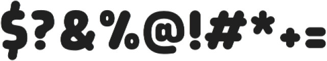 Morl Rounded ExtraBold otf (700) Font OTHER CHARS
