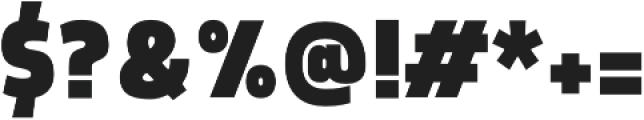Morl Sans Black otf (900) Font OTHER CHARS