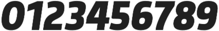 Morl Sans Bold Italic otf (700) Font OTHER CHARS