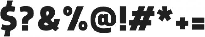 Morl Sans Bold otf (700) Font OTHER CHARS