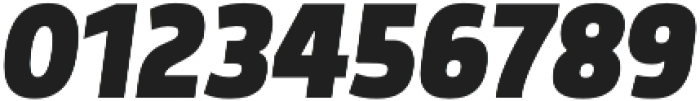 Morl Sans ExtraBold Italic otf (700) Font OTHER CHARS