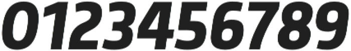 Morl Sans Medium Italic otf (500) Font OTHER CHARS