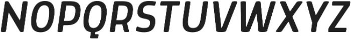 Morl SemiLight Italic otf (300) Font UPPERCASE
