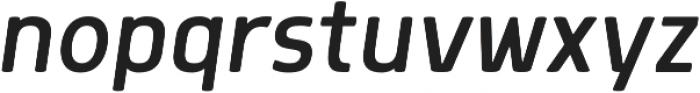 Morl SemiLight Italic otf (300) Font LOWERCASE