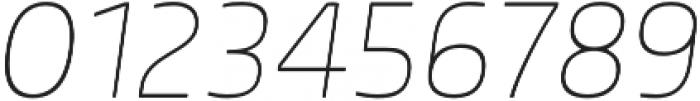 Morl Thin Italic otf (100) Font OTHER CHARS