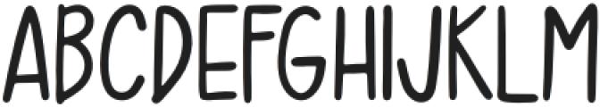 Moro Baby Handwriting otf (400) Font UPPERCASE