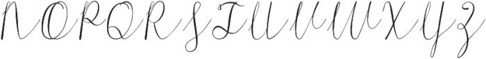 Morri Belle Script otf (400) Font UPPERCASE