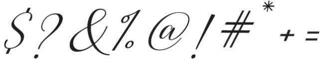 Morris Script otf (400) Font OTHER CHARS