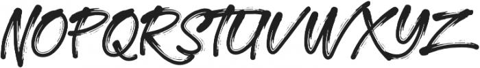 Morrissey otf (400) Font UPPERCASE