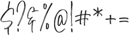 Morristone Regular otf (400) Font OTHER CHARS