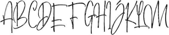 Morristone Regular otf (400) Font UPPERCASE