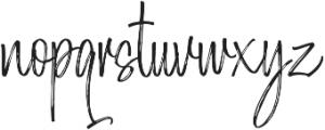 Morristone Regular otf (400) Font LOWERCASE