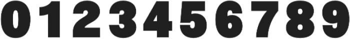 Morton Black otf (900) Font OTHER CHARS