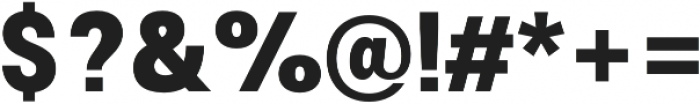 Morton Extra Bold otf (700) Font OTHER CHARS
