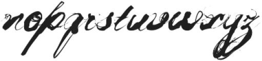 Mosh1 Regular ttf (400) Font LOWERCASE