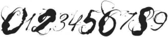 Mosh3 Regular ttf (400) Font OTHER CHARS