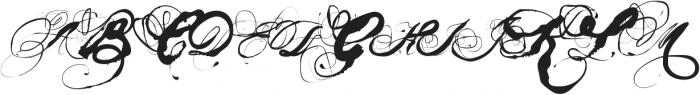 Mosh3 Regular ttf (400) Font UPPERCASE