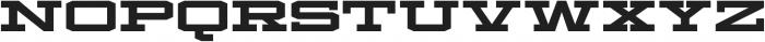 Mosler Safe otf (400) Font LOWERCASE