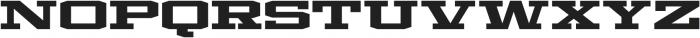 Mosler Strongbox otf (400) Font UPPERCASE