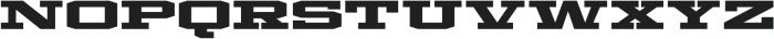 Mosler Strongbox otf (400) Font LOWERCASE
