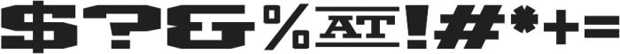 Mosler Vault otf (400) Font OTHER CHARS