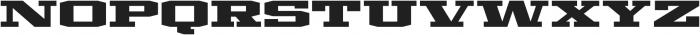 Mosler Vault otf (400) Font UPPERCASE