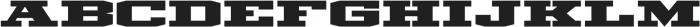Mosler Vault otf (400) Font LOWERCASE